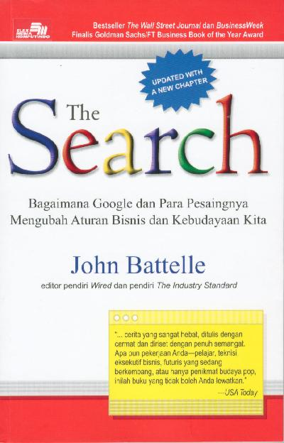 Cover Buku The Search