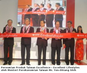 Peresmian Taiwan Excellence - Excellent Lifestyles