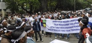 Demo Anggota APKOMLAPAN - 1