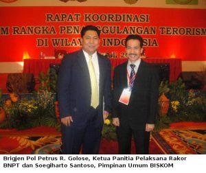 3. Brigjen Petrus R. Golose - Soegiharto Santoso