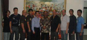 SoegihartoSantoso Mayjen Waris KurniawanTanujaya dan TAGOR Club di Rumah Dinas PangdamJaya