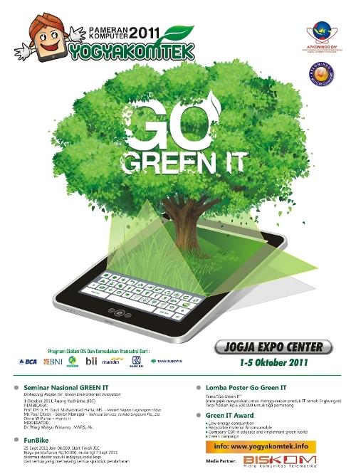 Peduli Lingkungan Yogyakomtek 2011 Gelar Seminar Nasional Green
