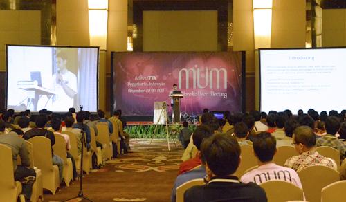 M Asnul Bahar Arief, salah satu pembicara dalam MUM 2013