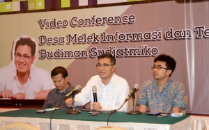 Raih MURI, DEMIT Gelar Video Conference dengan 360 Desa