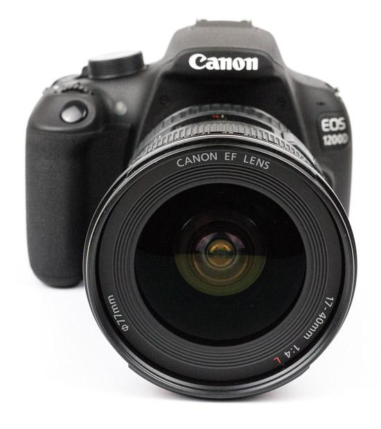 Canon EOS 1200D mit Canon EF 17-40mm L