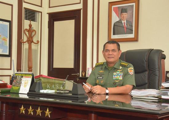 Kepala Staf TNI AD Jendreral Budiman