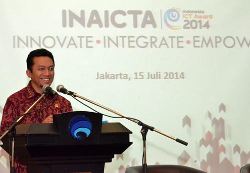 01. INAICTA 2014 - Menkominfo Tifatul Sembiring