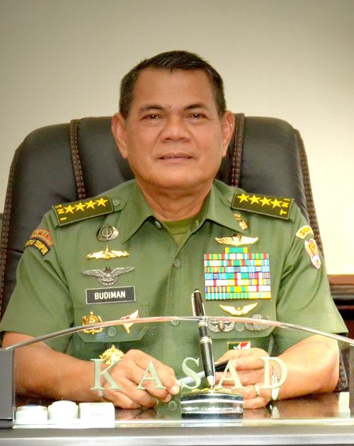 Jenderal TNI Budiman-Biskom