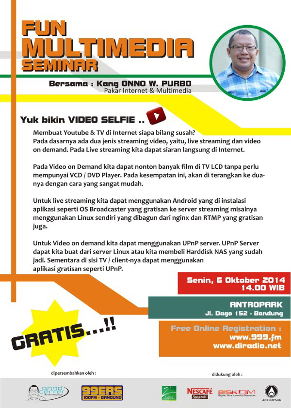 Seminar multimedia onno center