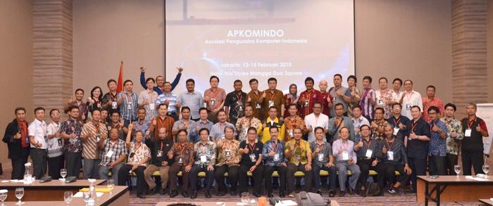 4. Foto BISKOM Bersama Munas Apkomindo 2015 - hari Kedua