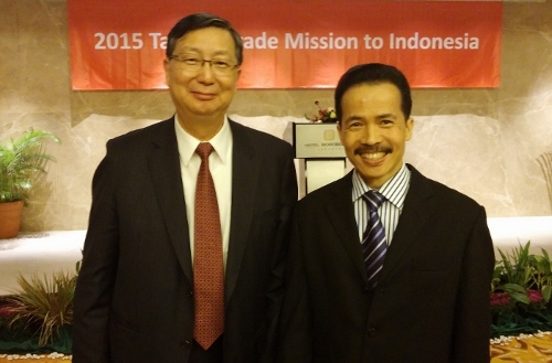 3. Wakil Menteri Ekonomi Taiwan Mr. Cho Shih-Chao