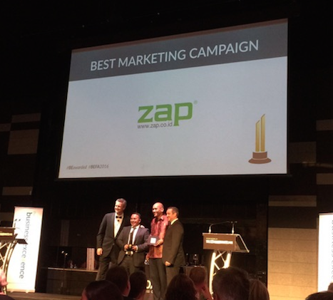 ZAP Best Marketing Campaign