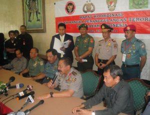 2. Rapat Koordinasi Menko Polhukam - Panglima TNI - Kapolri - Jaksa Agung - Kasad