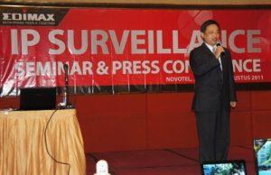 Albert Chang - EDIMAX Senior Director OBM Product Marketing Division