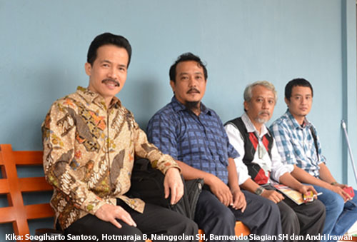 Soegiharto Santoso - Hotmaraja B. Nainggolan - Barmendo Siagian dan Andri Irawan